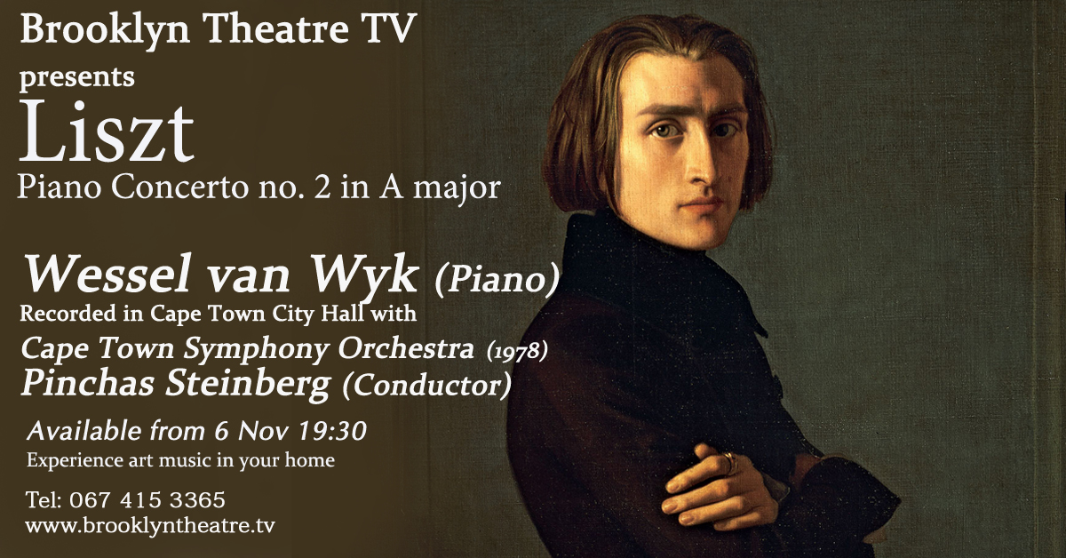 WESSEL VAN WYK  Liszt Piano Concerto no. 2 in A major Thumbnail Image