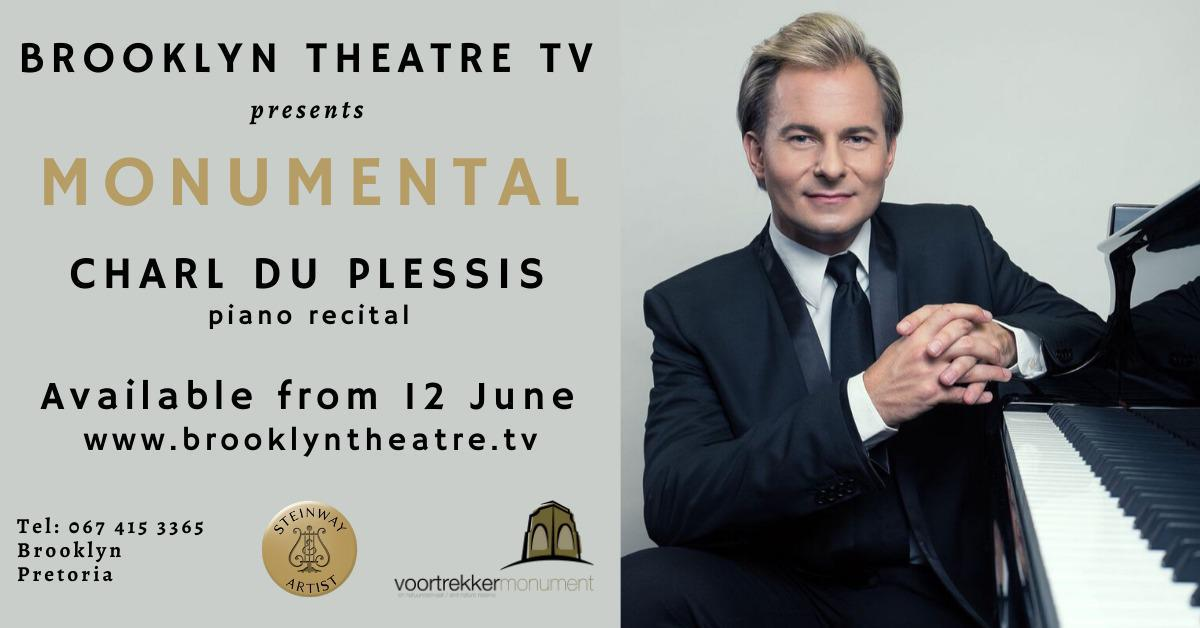 MONUMENTAL Charl du Plessis Piano Recital at the Voortrekker Monument Thumbnail Image