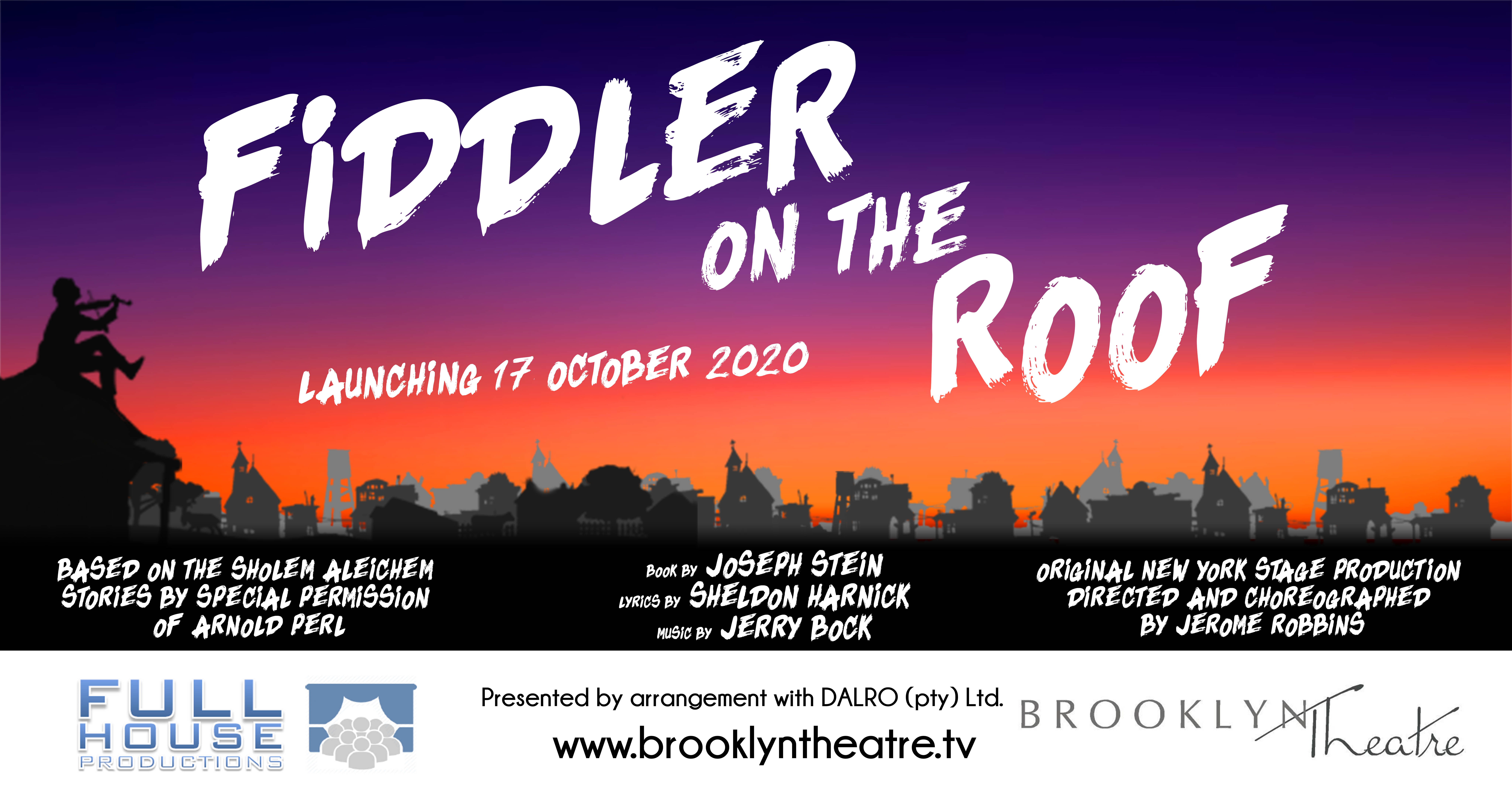Fiddler on the Roof - The Musical Thumbnail Image
